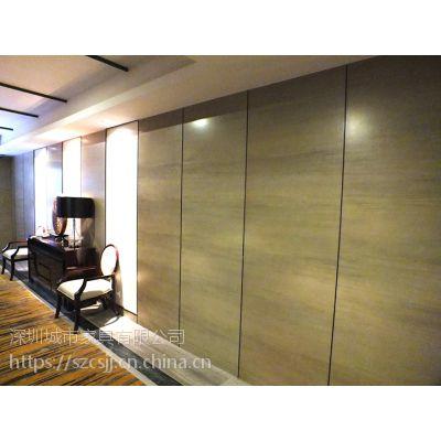 酒店装饰一般使用木饰面,城市家具分析酒店木饰面的优点