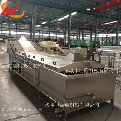 2019新品 鲜玉米漂烫冷却线 海产品连续式漂烫机 甜玉米蒸煮加工机械