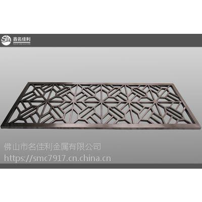 黑鈦花格不锈钢专家 201不锈钢建筑装饰专业