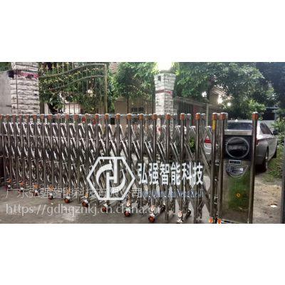 万江电动伸缩门安装订做,街口电动门配件,遥控平移门厂家价格