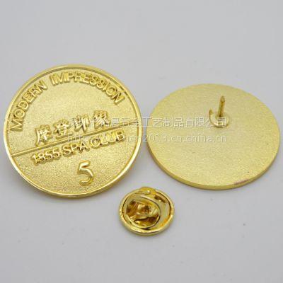 香港同学会徽章定做金属毕业季周年胸针生产厂家
