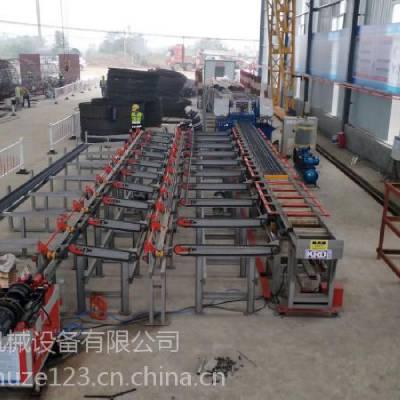 济宁凯瑞机械数控钢筋锯切套丝生产线KJ-450|数控钢筋镦粗套丝打磨生产线|全自数控钢筋锯切套丝生产