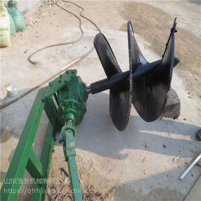 可按框架式挖坑机 双螺旋钻孔机 绿化园林用