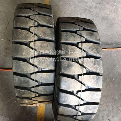 直销林德型 28X12.5-15 叉车实心轮胎 工程机械轮胎 防刺扎电话15621773182