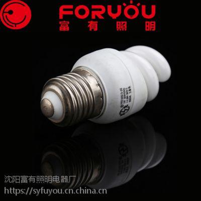 厂家专供三基色15W螺旋节能灯小全螺白光暖光