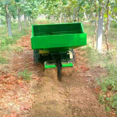 佳鑫山地行走式施肥回填机 果园施肥履带式开沟机厂家