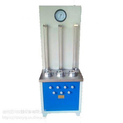 TH-080S土工膜渗透系数测定仪 土工膜抗渗仪 耐静水压与渗透系数