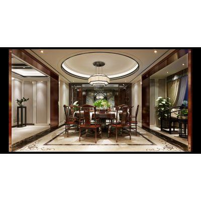 南京龙发装饰 - 中海凤凰熙岸500平方别墅装修设计 - 南京别墅装修设计公司哪家好