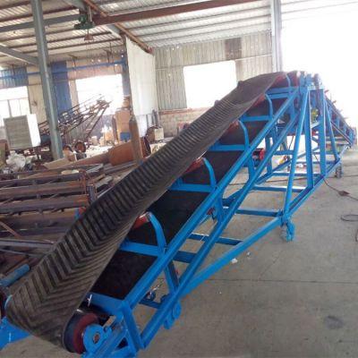 水果皮带输送机设计图 兴亚装车带式输送机图片