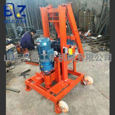 家庭水井钻机能打100米 贝兹机械 回转式钻机 生活取水井钻井机
