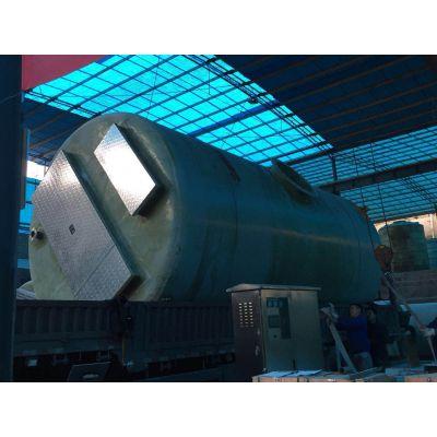 材质不锈钢一体化污水泵站沃利克环保污水设备厂家直销