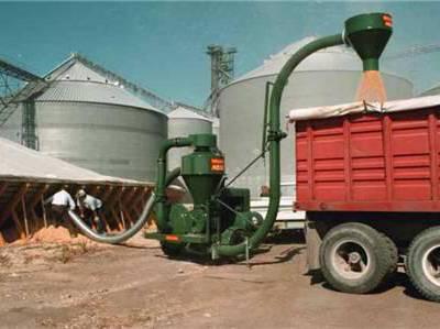 兴亚辽源市粉料密闭式气力输送机 移动式农用稻米吸粮机 大型粉煤灰气力机