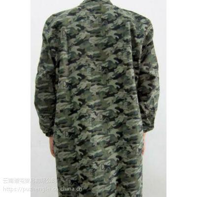 云南道屯品牌XXXL迷彩化纤类混纺大褂批发厂家