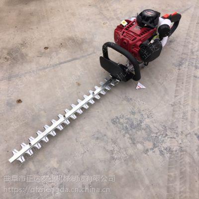 济源汽油绿篱机视频 斜面绿篱修剪机