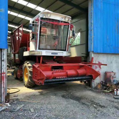 民耀青储机厂家加工定制大型玉米秸秆青储收割机 棉杆粉碎机