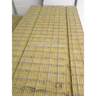 沈阳单面钢丝网硬质岩棉板,我厂大量批发,价格最低,质量,