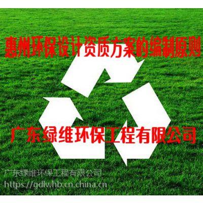 惠州环保公司之建设项目竣工环保验收办理条件和所需材料
