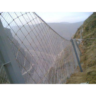厂家销售山坡圈石头网钢丝绳网