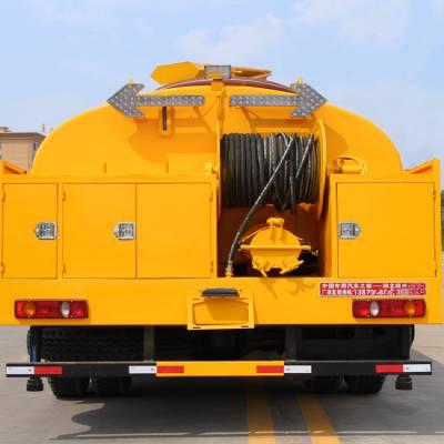 池州8吨化工厂污水运输车价格