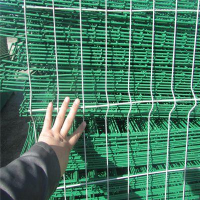 车间防护隔离栏 Y型柱防御护栏网 监狱铁丝网围墙