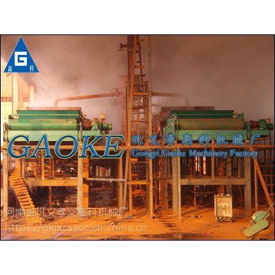 钛铁矿磁选设备高强磁磁选机 平板磁选机