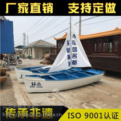 木船/单蓬船/仿古木船/手划船/观光船/餐饮船/小画舫/装饰船/道具 渔船