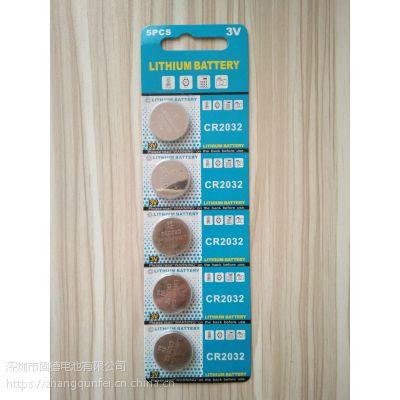 纽扣电池CR2032 有卡装和工业装2种