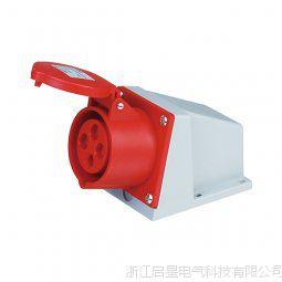 启星QX.114 系列明装插座 16A/4芯工业防水插座