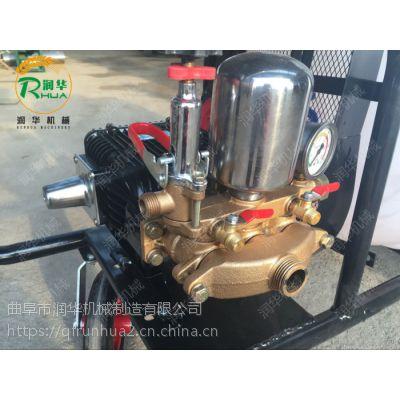 高压电动喷雾器 润华 自走式喷雾机 柴油打药机