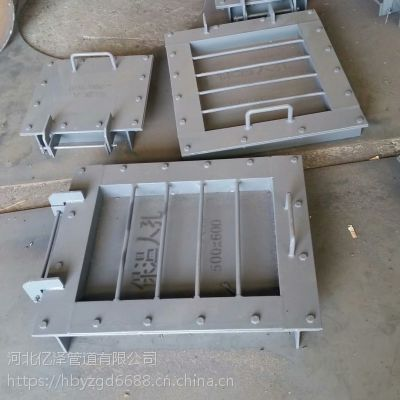 供应成都YZLD55004-500*600矩形保温人孔厂家