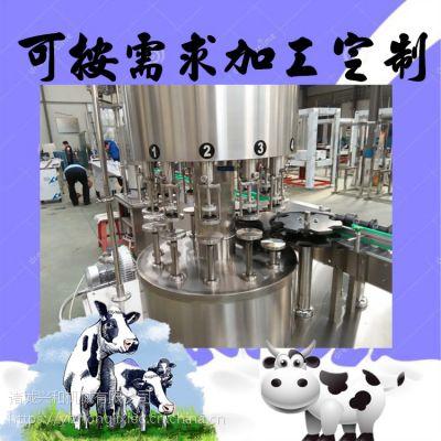 酸奶生产线 鲜奶全套加工设备 巴氏奶加工生产线机器