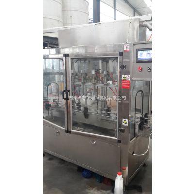 桶装酒自动液体灌装机械玻璃瓶灌装旋盖机【认证企业】