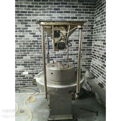 现林五谷杂粮磨浆机水磨 中小型家用石磨机 餐饮连锁店用石磨