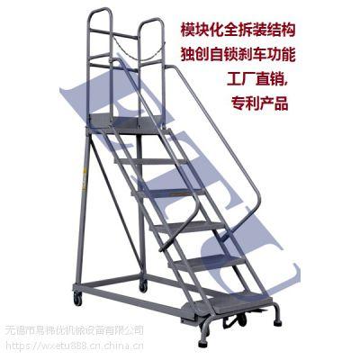 供应ETU易梯优,钢制欧式取货梯 登高平台梯 可定制