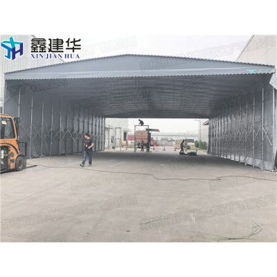 浦东新区活动伸缩仓储大型雨棚制作厂家_布移动推拉帐篷供应