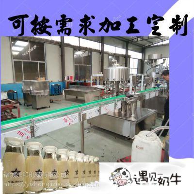 巴氏奶杀菌机 巴氏奶生产工艺 大型新款巴氏奶生产线