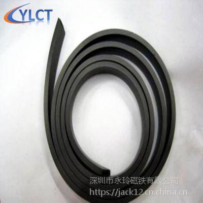 供应橡胶磁铁 磁板 磁胶 软磁磁片 软磁材料 超强磁铁
