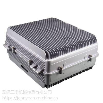 湖北OEM定制型号尺寸低压铸造通讯用直放站压铸机箱、 铸铝机箱