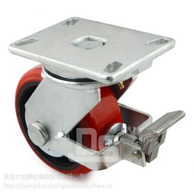 大世脚轮批发 高承载万向轮 刹车 高强度耐磨耗全向轮 可定制