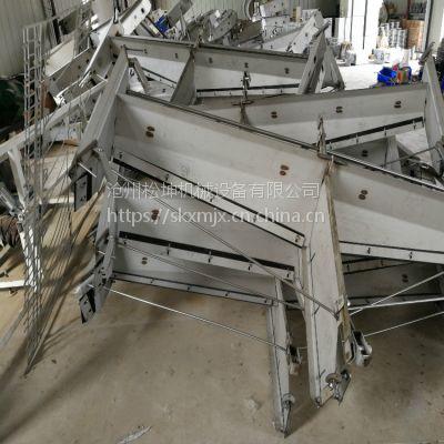 济宁羊场不锈钢自动刮粪机 济宁智能刮粪板 猪场清粪机