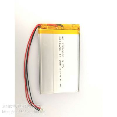 3.7V聚合物锂电池-行车记录仪,自拍杆