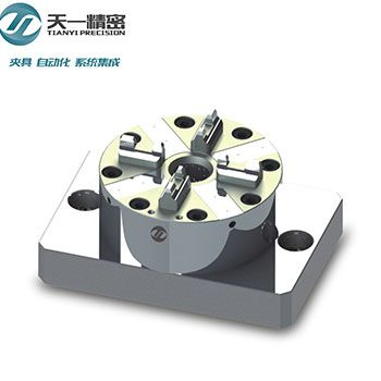 供应快速定位夹具 TOP1精密电极可兼容华瑞夹具