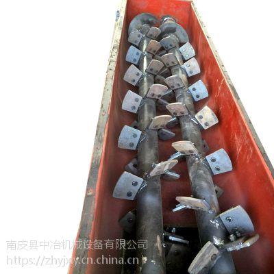 中冶双轴加湿机卧式强力搅拌机搅拌量大均匀可靠