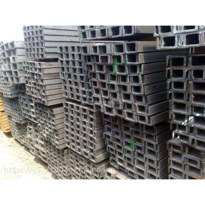唐钢现货6.3 10热镀锌槽钢 U型槽钢 工厂工地专用规格齐全 物流配送