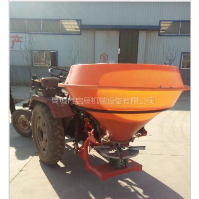 农用大型撒肥机械 塑料桶撒肥机 拖拉机传动轴带后置撒肥机