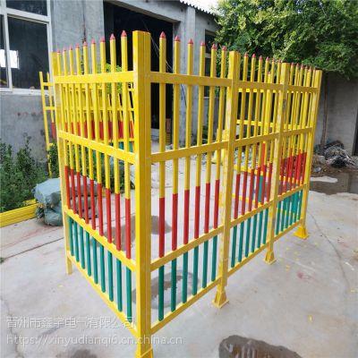 围栏隔离箱式绝缘变压器安全护栏玻璃钢固定式围栏护栏