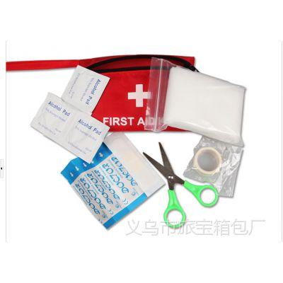 6Pc户外旅行医疗包 地震 车载 野外生存医药包 家庭急救包 救生包