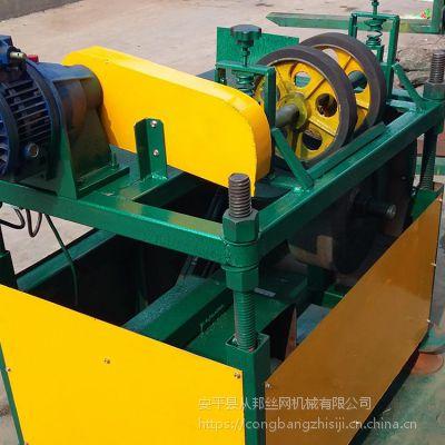 供应湖南从邦全自动钢丝磨尖倒角机 磨尖尺寸准确
