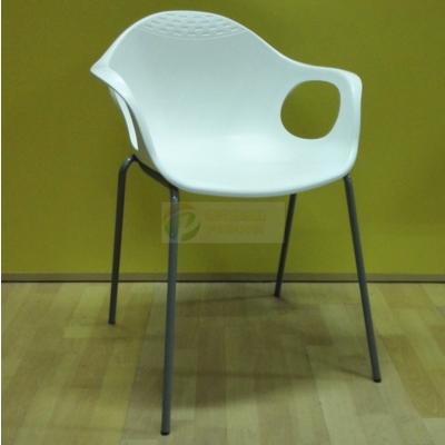 厂家直销塑钢椅加厚会议椅镂空培训椅塑料椅子会客椅洽谈椅