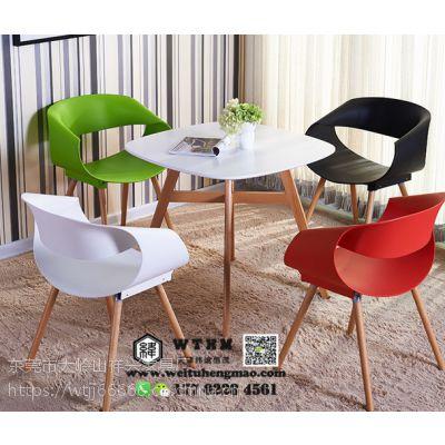 天津北欧实木做旧餐桌椅,西餐厅咖啡厅美式餐桌椅,LOFT桌台,私人订制